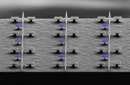 """Light-Mediated Cascaded Locking of Multiple Nano-Optomechanical Oscillators,"" [PRL, 118, 063605, 2017]"